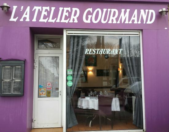 L'atelier Gourmand : Vitrine Restaurant