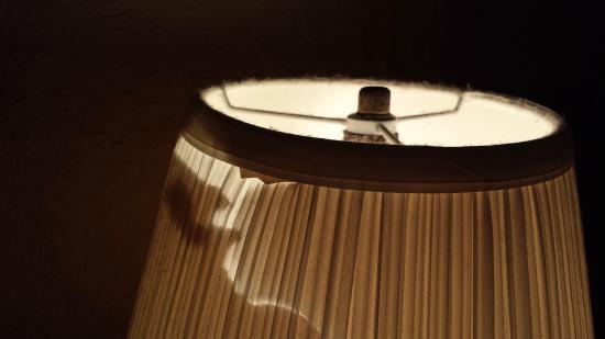 America's Best Inns Altamonte Springs/Orlando: very dirty / broken lampshade