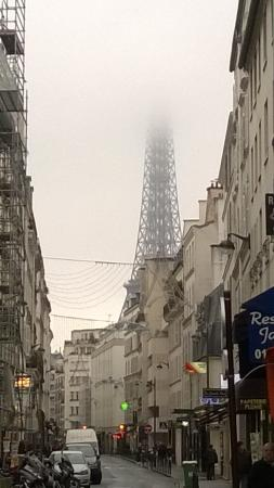 Hotel Le Pavillon Eiffel Tower From Just Outside The