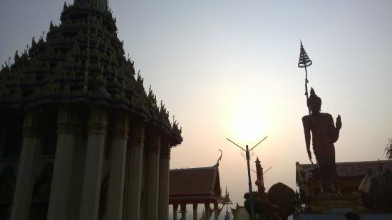 Uthai Thani City, Thaïlande : by sunset