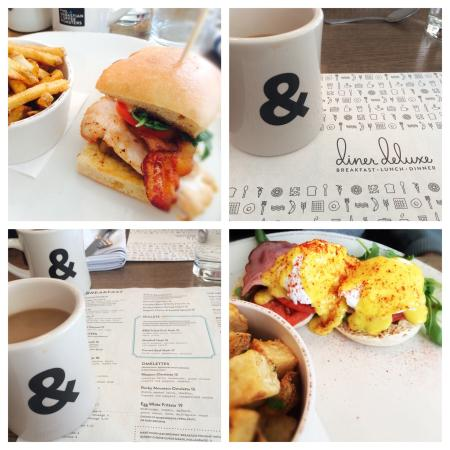 Diner Deluxe: Great food and coffee!