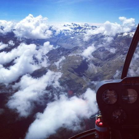 Aspiring Helicopters : Up in the clouds