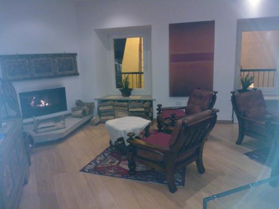 Hotel Romanda: hall