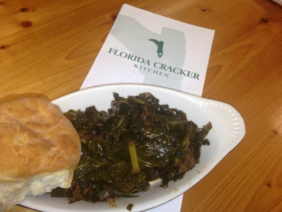 Florida Cracker Kitchen: Homemade collard greens everyday for sure!