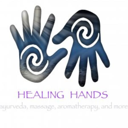 Healing Hands Massage & Ayurveda Spa : Look for our Logo you see this you found us!