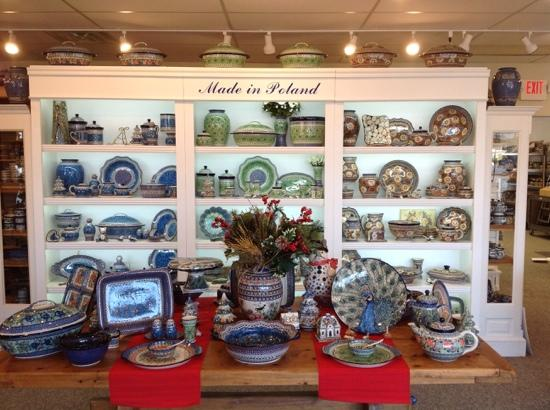"""Polish Pottery Westlake Store """"A Must See Store"""""""