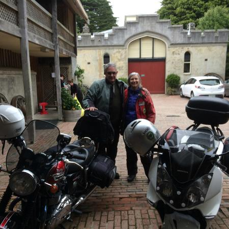 South Pacific Motorcycle Tours - Day Tours: Larnach Castle