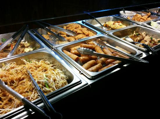 lunch buffet with lots of veggie items picture of thai pepper rh tripadvisor co za nagoya buffet baton rouge chinese buffet baton rouge