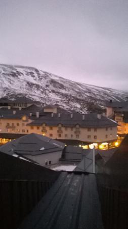 Melia Sol y Nieve: View from room window