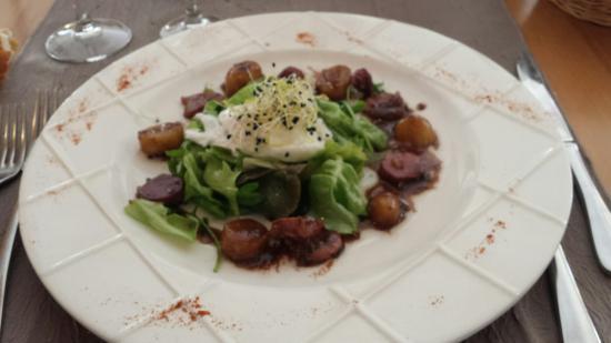 Auberge de Catherine: Salade de rattes...