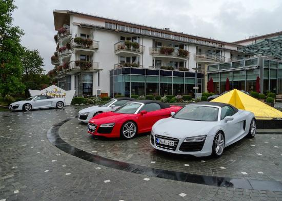 Althoff Seehotel Überfahrt: Audi R8 Spyders