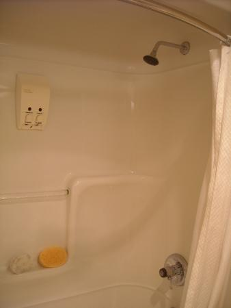 Sandman Hotel Victoria: bath and shower unit