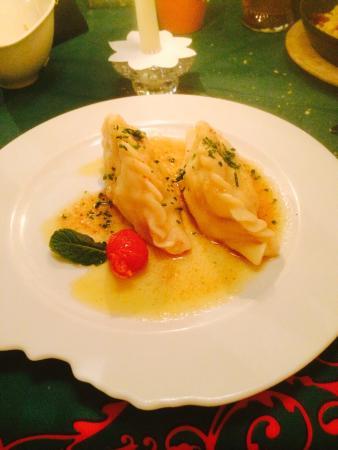 Restaurant Landhaus-Stüberl: Ravioli carinziani ottimi:)