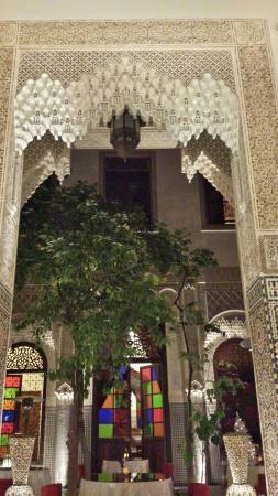 Ryad Alya: le patio du ryad