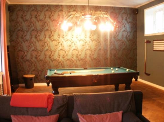 Rungstedgaard: Pool room
