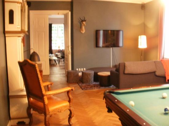 Rungstedgaard: TV and games room