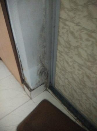 Hotel Park Inn: all deteriorated and unpleasant walls