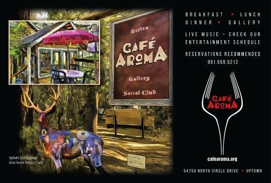 Cafe Aroma: Cafe Aroma - 2014 TripAdvisor #1 Idyllwild Restaurant