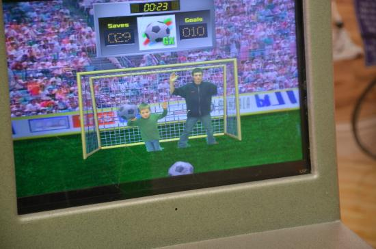 St. George Children's Museum: Green Screen Game