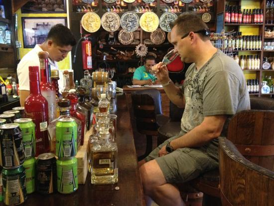 Tequila Town: Sniff & Sample, the spit and rinse