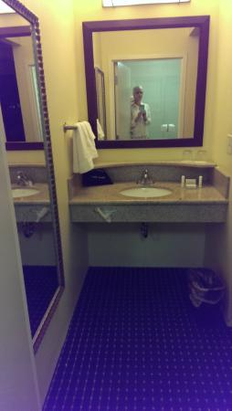 SpringHill Suites Omaha East/Council Bluffs, IA : Bathroom sink area