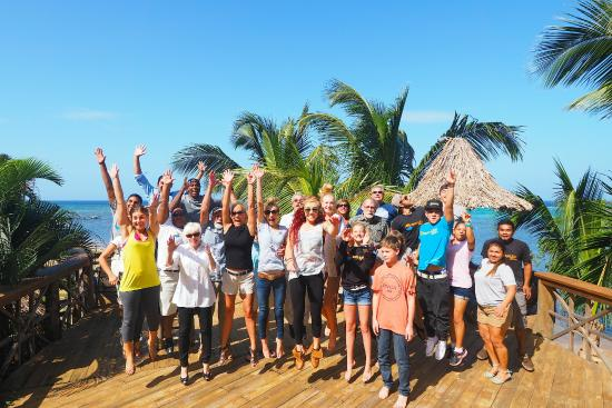 The Sunken Fish Tree Top Ocean View Bar & Restaurant: 2015 parks family - Big smiles and great times