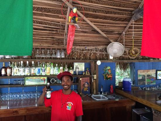 Pickled Parrot: Our awesome bartender