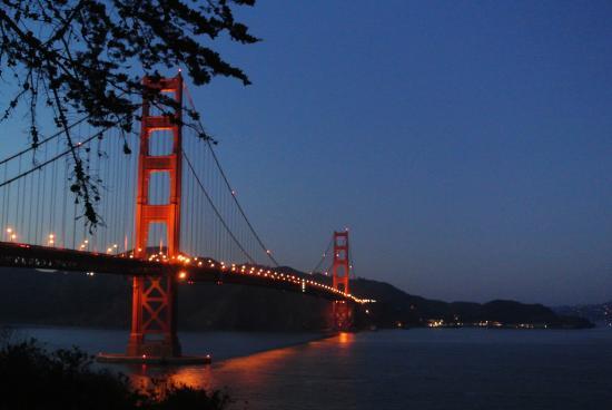 San Francisco Bay: golden gate bridge