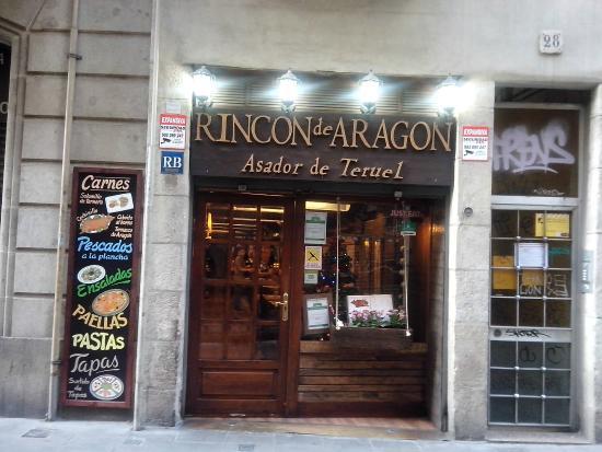 el rincon restaurant puerta principal restaurante