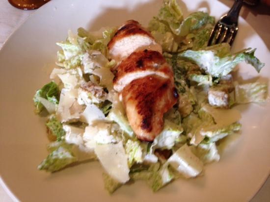 TPC Sawgrass: caesar salad with chicken