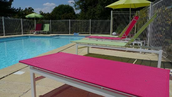 La piscine photo de le logis du parc saint fulgent for Piscine st fulgent
