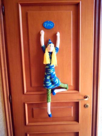 Country Inn Casa Mazzoni : La porta della camera