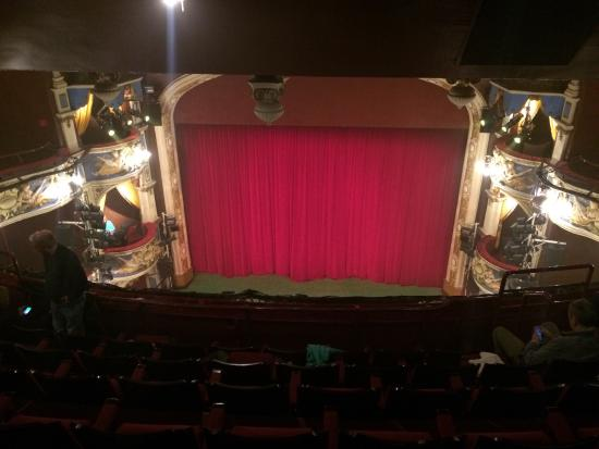 Crewe Lyceum Theatre: A view from the Gallery