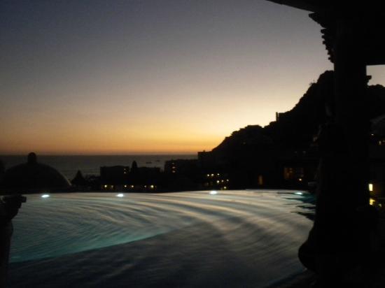 The Ridge at Playa Grande Luxury Villas: Sunset on The Ridge at Playa Grande November 2014