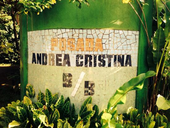 Posada Andrea Cristina: Entrance