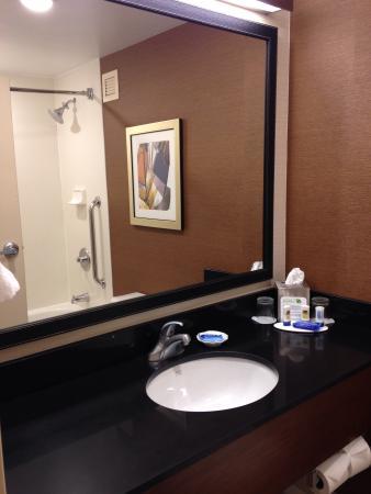 Fairfield Inn & Suites Rochester West/Greece: Bathroom