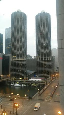 theWit Chicago - a DoubleTree by Hilton Hotel: View from room on 8th Floor