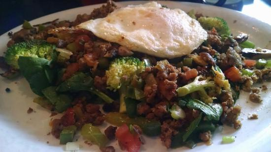The Blue Moose: Maries with chorizo