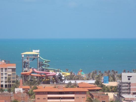 Planet Dunas Residence : Vista para o Beach Park