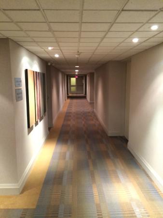 Shaw Club Hotel : Hallway