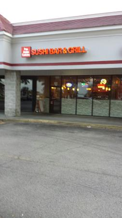 Pan Asian Cuisine Sushi Bar and Grill : Front door