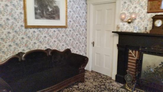 Lizzie Borden House: Room where Mr. Borden was found dead