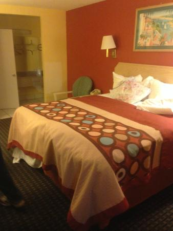 Super 8 Chipley : Large comfy bed and bathroom