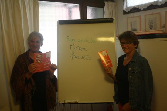 Venice Italian School : Janet (Australia) e Angela (Austria) - Gruppo Elementare - settembre 2014