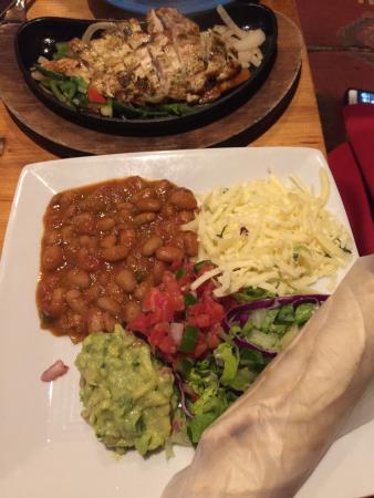 Gringo Jack's : Chicken fajitas
