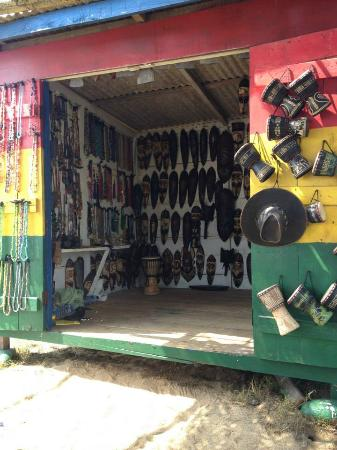 Coconut Grove Beach Resort: Inside the man's shop