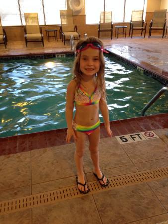 Hampton Inn Bennington: Pool