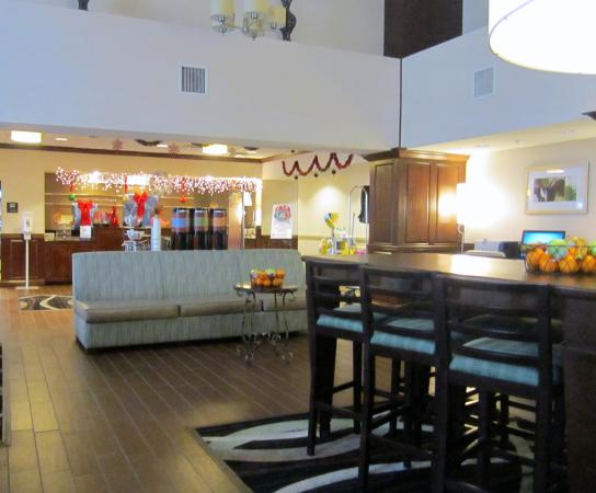 Hampton Inn & Suites Lady Lake/The Villages: Looking toward reception from the breakfast area