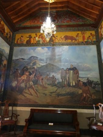 Museo Bolivariano : Uma das telas