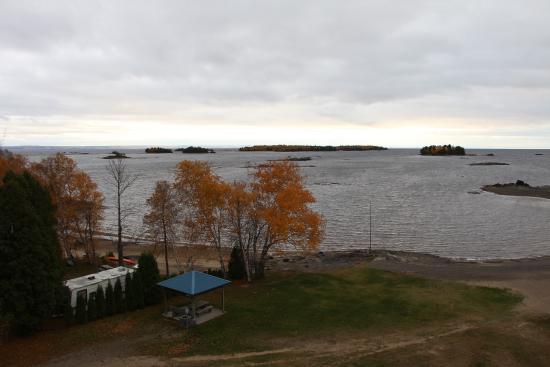 Auberge Des Iles : View from room